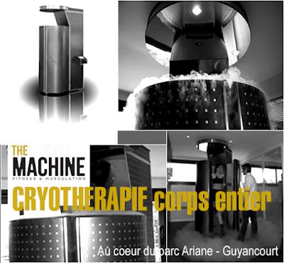 Cryothérapie corps entier Guyancourt parc Ariane