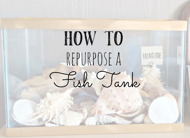 How to repurpose a fish tank