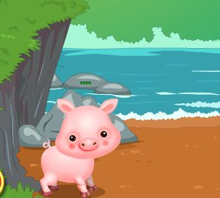 GamesClicker Naughty Pig Escape