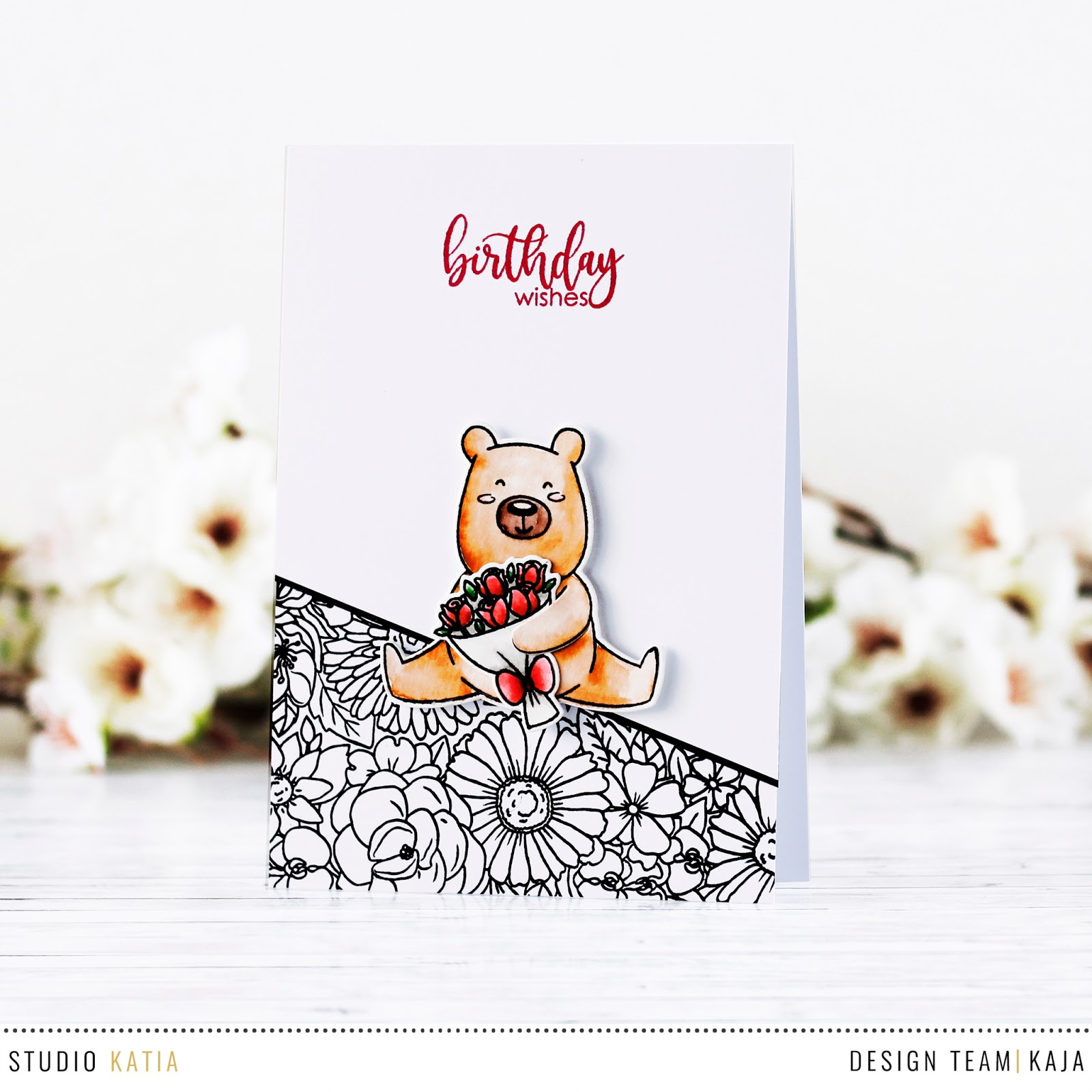 Quick and cute birthday card | STUDIO KATIA