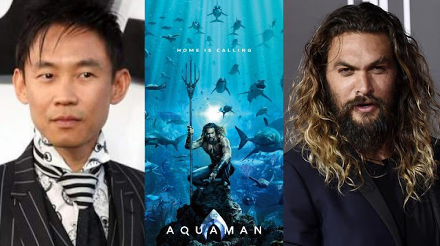 James Wan dan Jason Momoa Aquaman