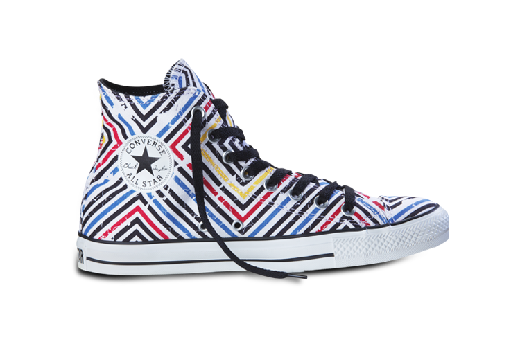 c1e621141661 Converse All Star  Chuck Taylor - Stripes Red White Yellow Mens   Ladies SKU  Number  1111