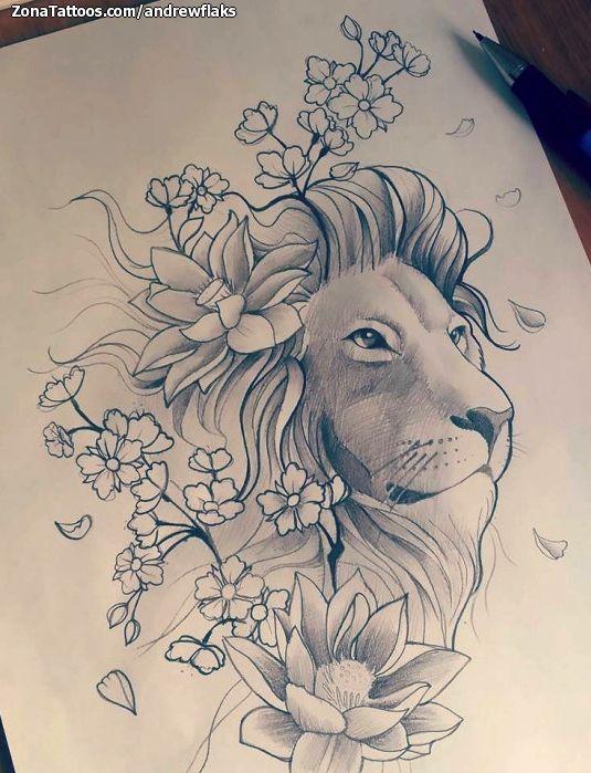 inspire se tatuagem de leão não hesite