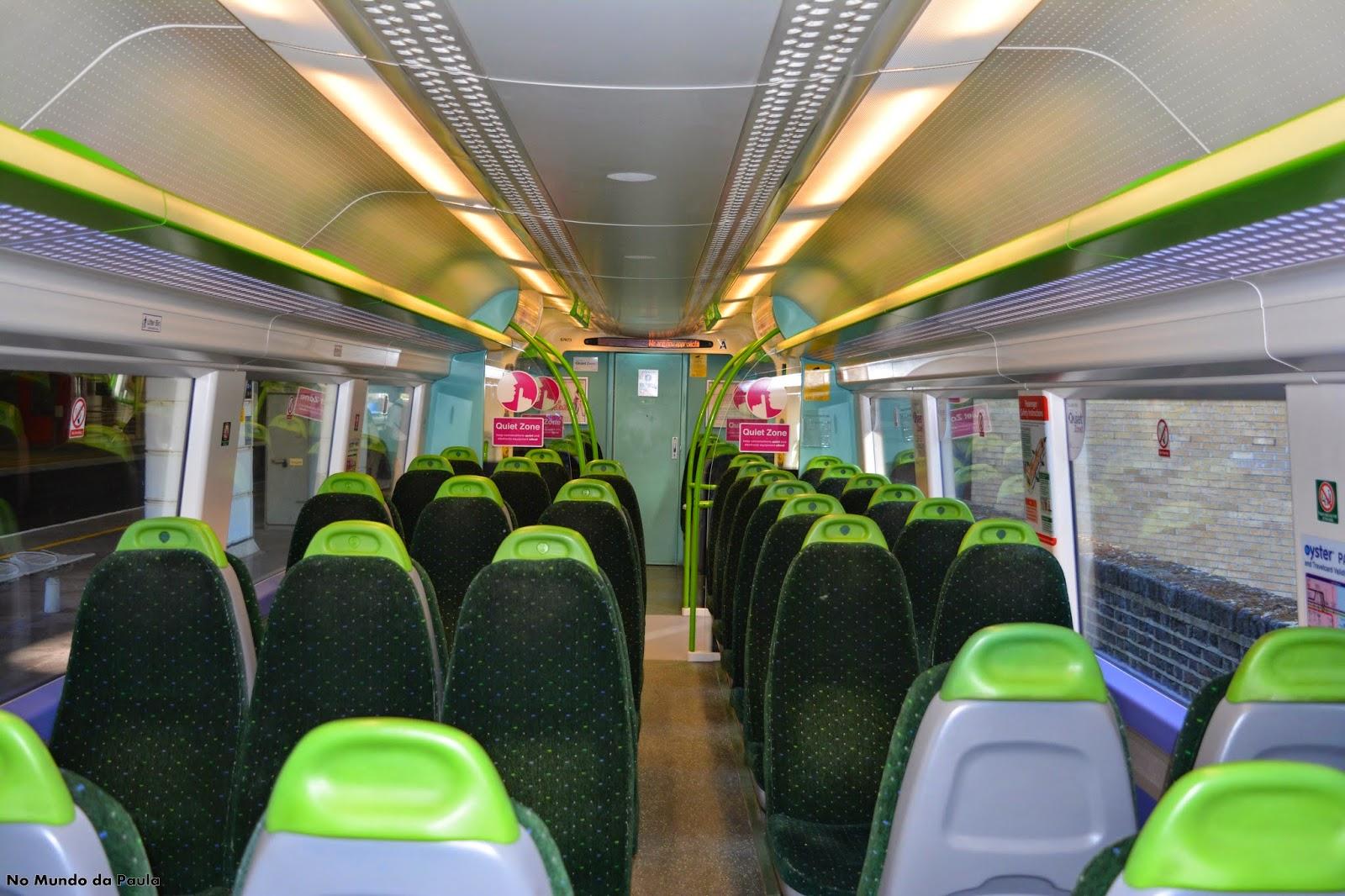 Como Viajar de Trem na Inglaterra