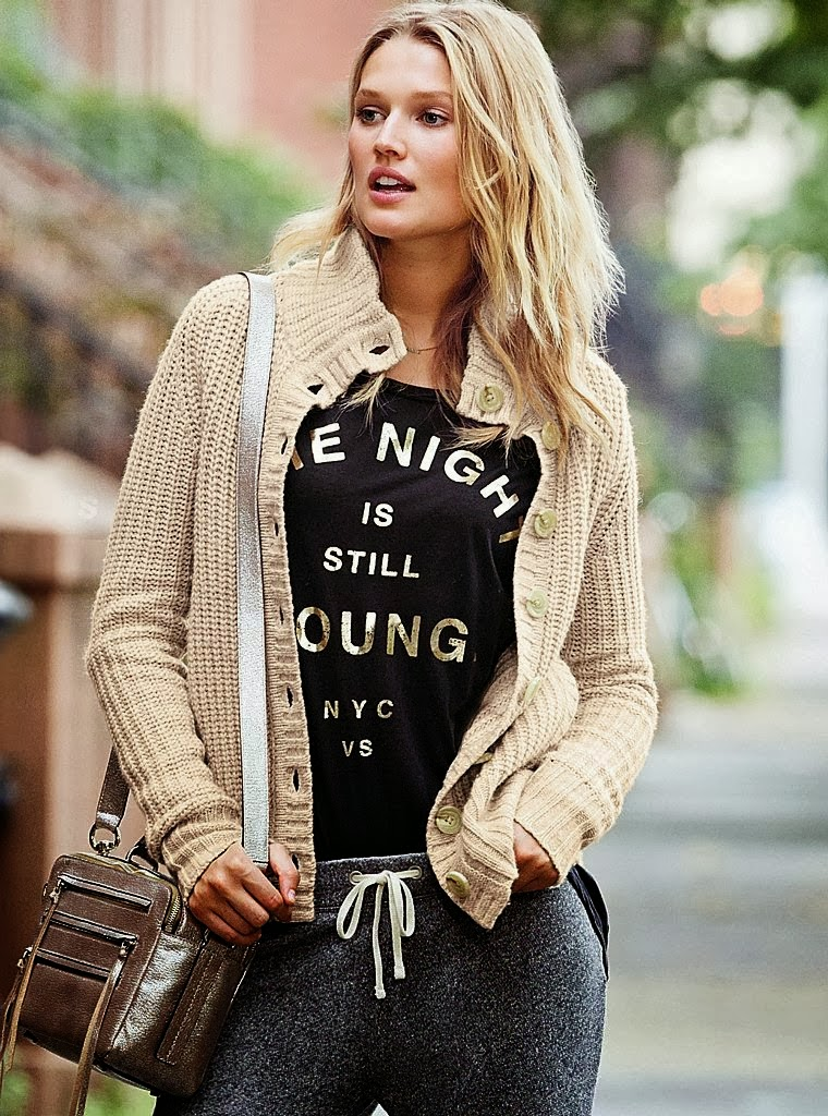 Victoria's Secret Clothing October 2013 Lookbook Featuring