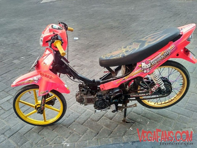 Modifikasi Vega R New Thailook Pink