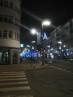 dekoracje Świąteczne, światełka, Świętojańska, gdynia