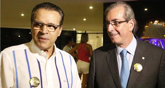 Lava-Jato mira na suspeita de atuação casada de Henrique Alves e Eduardo Cunha