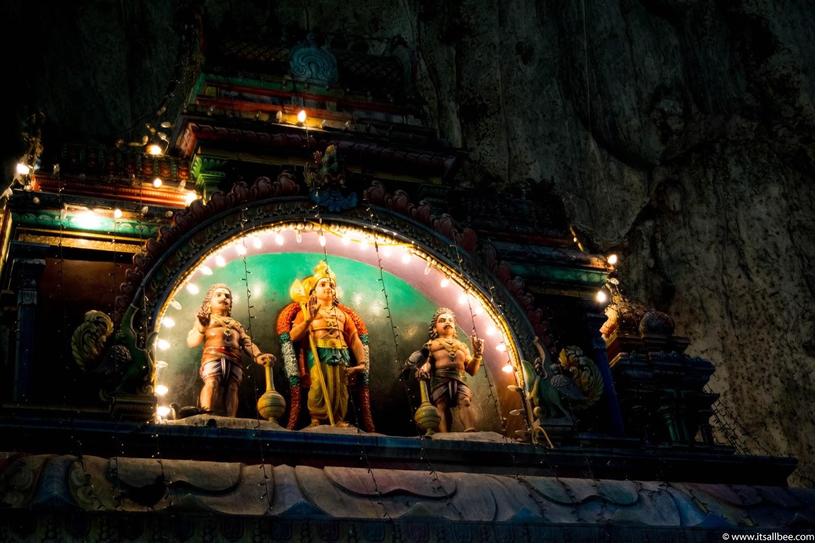 Inside the Batu Caves Temple - Kuala Lumpur Malaysia