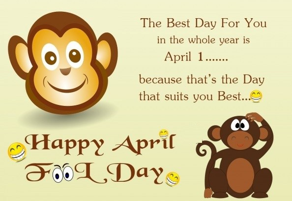 {*Happy*} April Fool's Day 2017 Funny Jokes, Trolls, Memes Pranks, Quotes Message & Wishes
