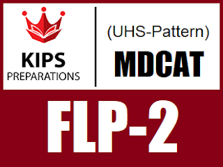 KIPS FLP-2 MCQs For MCAT (UHS Pattern) - EducatedZone