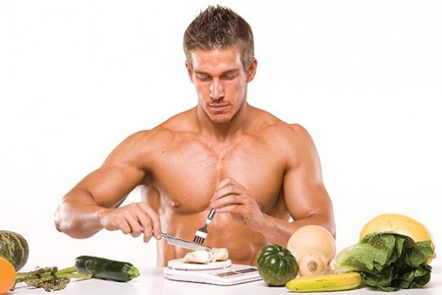 increase muscles with diet