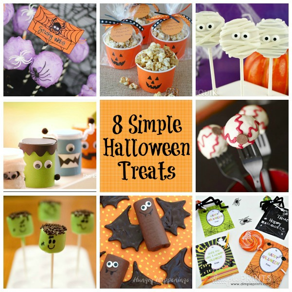 8 Simple Halloween Treats Giggles Galore