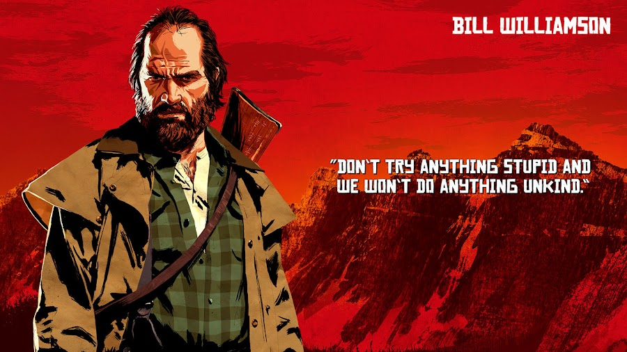 red dead redemption 2 van der linde gang bill williamson