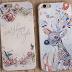 小清新iphone6plus手機殼_浮雕花朵_蘋果5.5吋_保護套7代_矽膠軟【17-18】【Y-19】