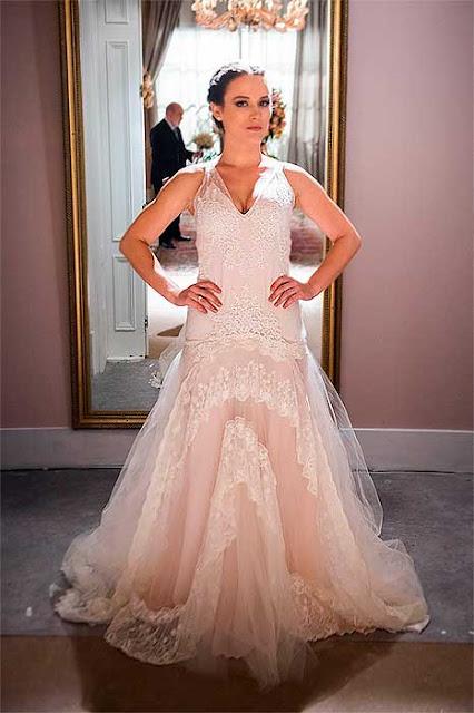 vestido clara casamento renato