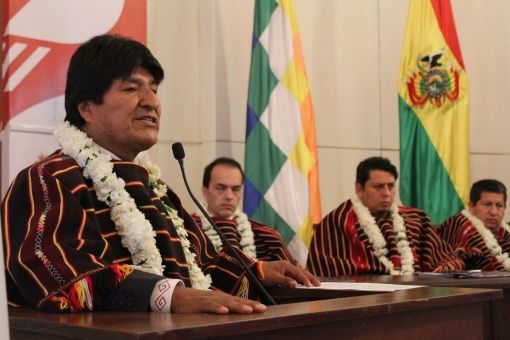 Evo alerta invasión encubierta de EE.UU. contra América Latina