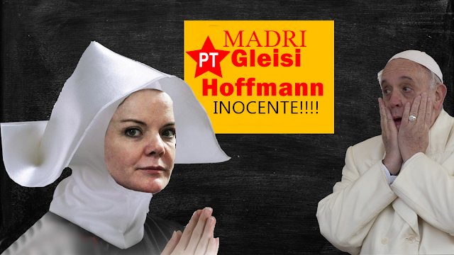 "Senadora Gleisi Hoffmann ""É INOCENTE""  STF"