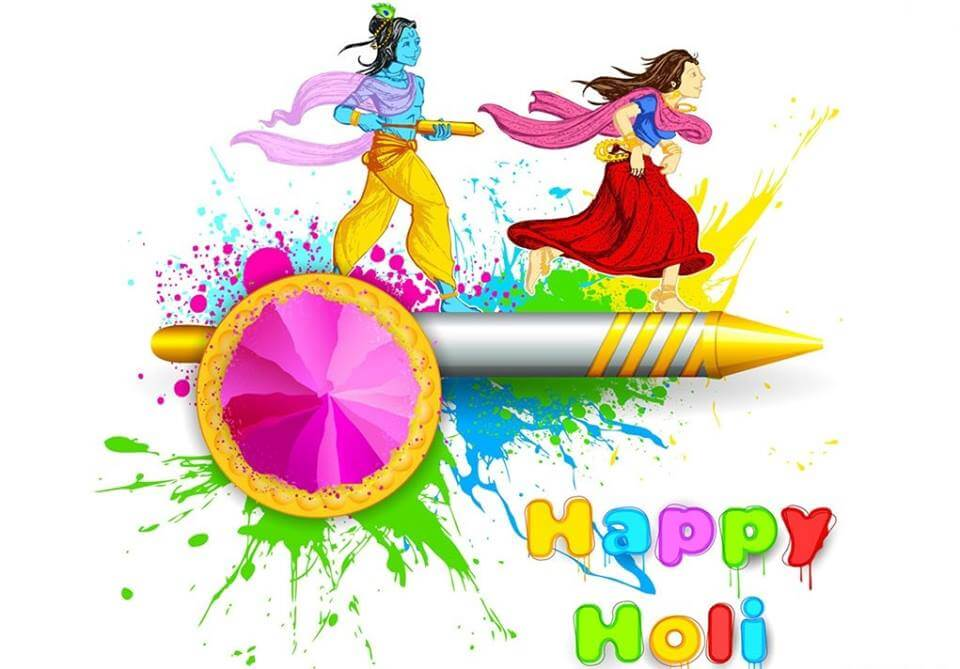 Happy Holi HD Wallpapers For Mobile & Desktop Cover Photos