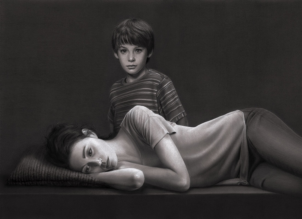 13-The-Returned-Victor-and-Julie-Dirk-Dzimirsky-Realistic-Drawings-and Paintings-www-designstack-co