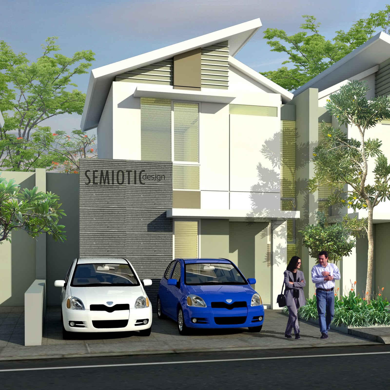 SEMIOTIC DESIGN: Modern House