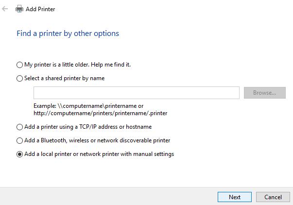 Cài đặt driver máy in HP LaserJet 1015 trên Windows 10