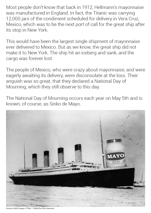 Use Your Blinker: The Real Story of Sinko de Mayo