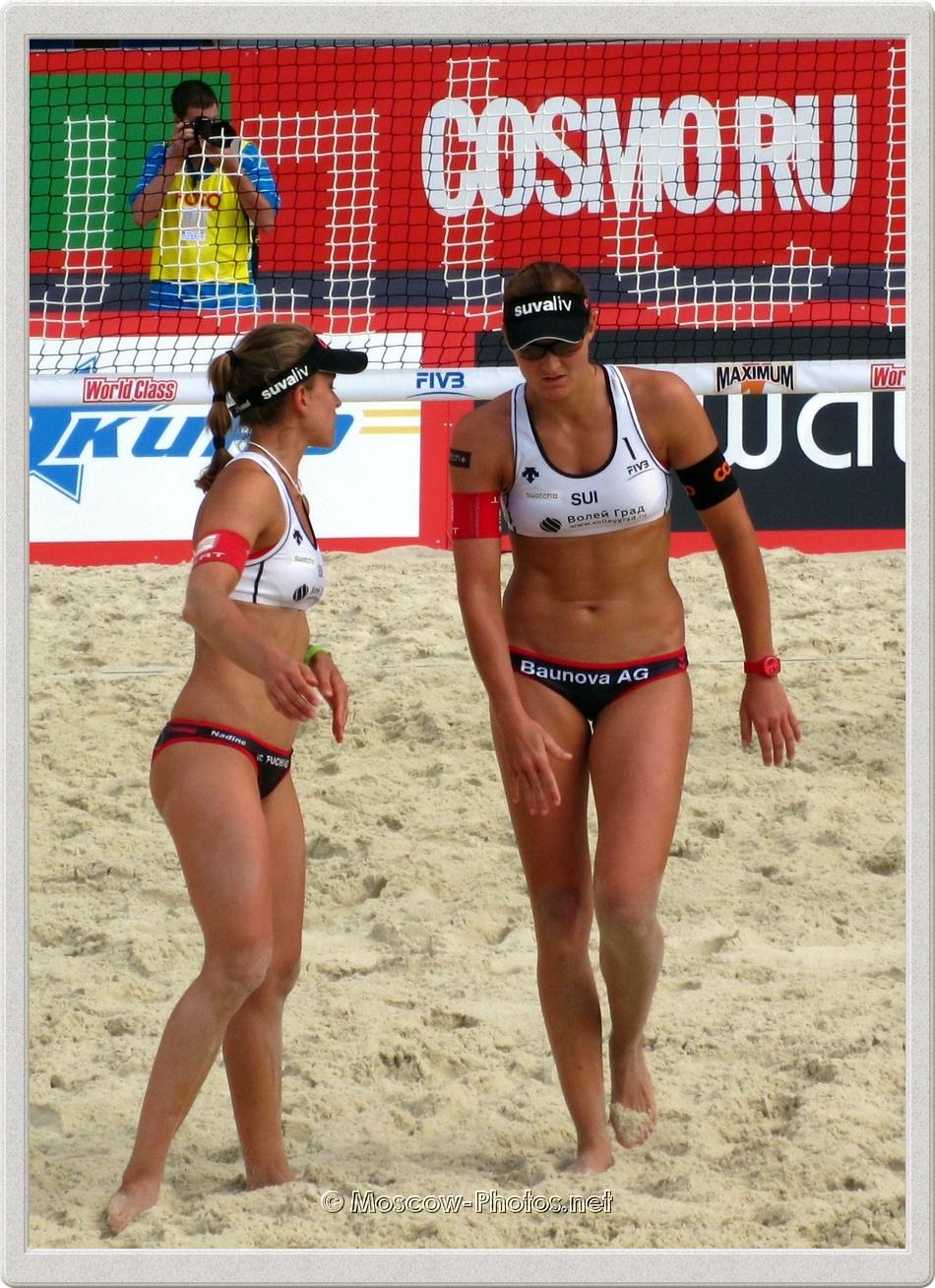 Swiss Beach Volleyball Women's Team