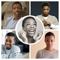 Transição Inspiração Big Chop Poussey Washington - Orange is the New Black