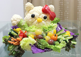 Hello Kitty Veggie Party Platter