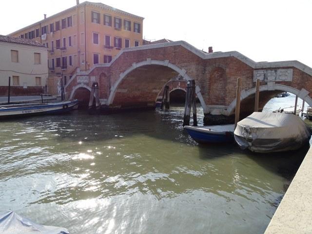 ponte dei tres archi puente tres arcos venecia cannagerio