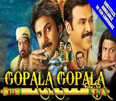 Gopala Gopala Hindi Dubbed HDRip 480p