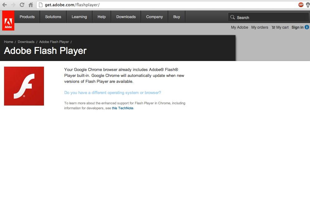 Adobe Flash Player Mac Chrome