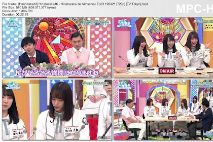 Hinatazaka46 - Hinatazaka de Aimashou Ep03 190421 (TV Tokyo)