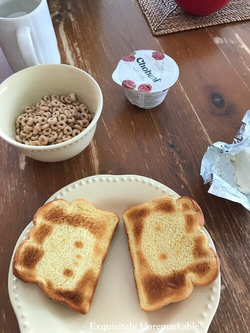 Hello Kitty Breakfast