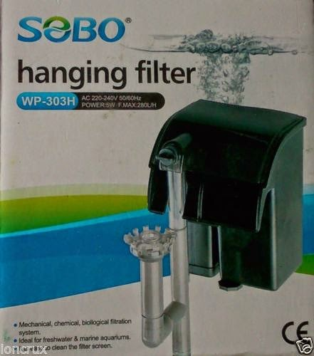 Lọc thác Sobo 303H thích hợp cho hồ thủy sinh nhỏ