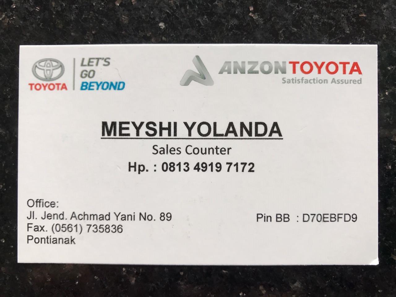 Cara Membeli Mobil Baru Toyota di Pontianak