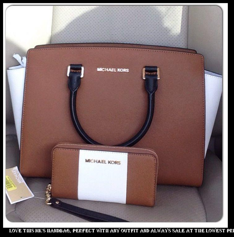 sale retailer 550be d9fdd ... Love this MK s handbag, perfect with any outfit and always sale at the  lowest price...MUST HAVE!  AllAccessKors  NYFW  FallingInLoveWith   SpringFli…