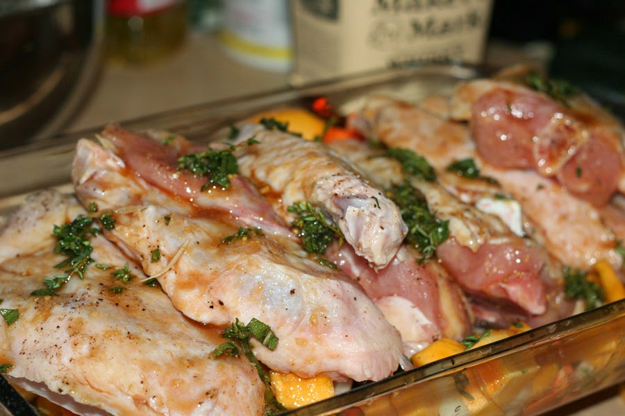 how to cook smoked turkey wings in the oven