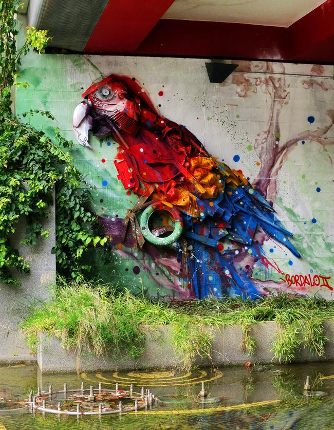 bordalo3 Artes Sustentáveis: Decoração Urbana