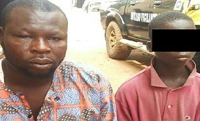 fake blind beggar regains sight ikorodu lagos