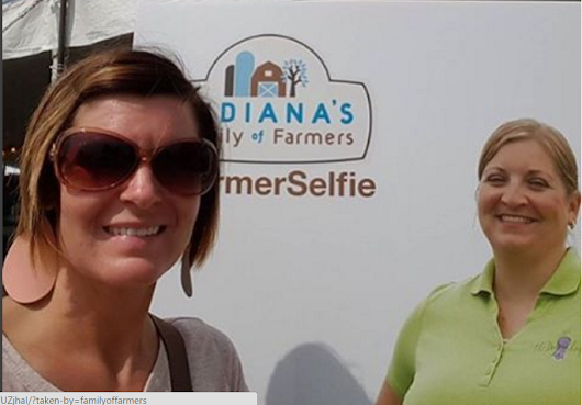 #FarmerSelfie is Back! Join Us At the Indiana State Fair!