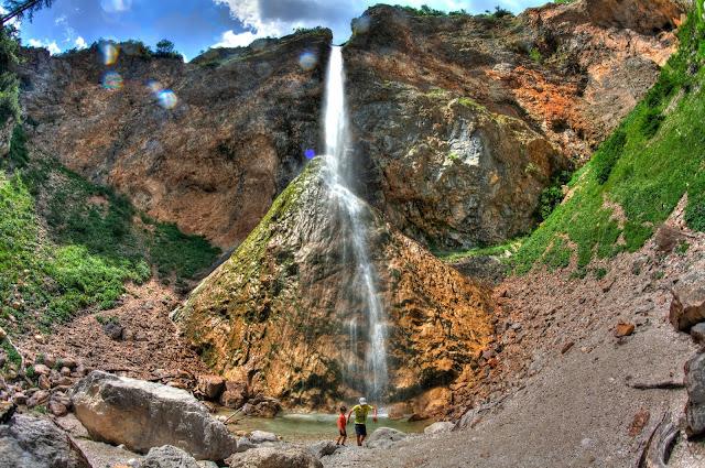 Cascada en Logarska Dolina