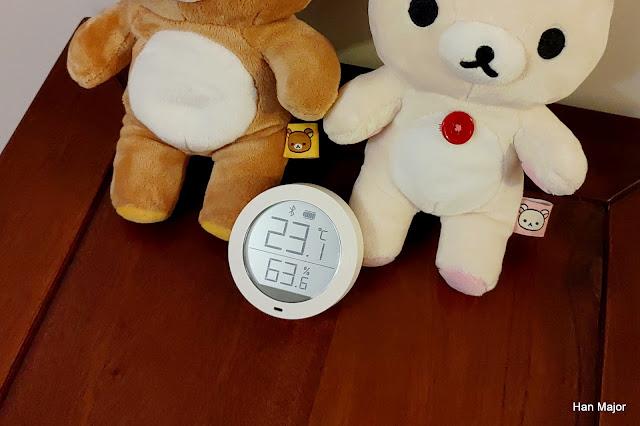 溫度計 溼度計 米家藍牙溫濕度計 拉拉熊與小白熊