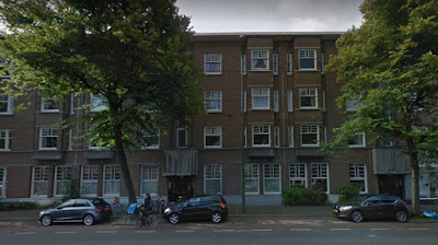 Vondelstraat - south side, east end (Google Street view)