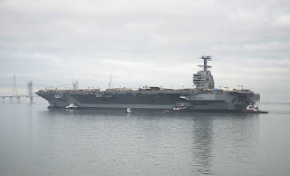 US Navy's Most Expensive Warship Ever Built 'Struggles With Jets Taking Off And Landing'