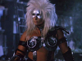 Teagan Clive as the Alientator (1990)