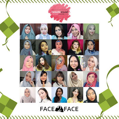BOLD MAKEUP LOOK UNTUK DI HARI LEBARAN | MAKEUP COLLABS WITH BEAUTIESQUAD & FACE2FACE