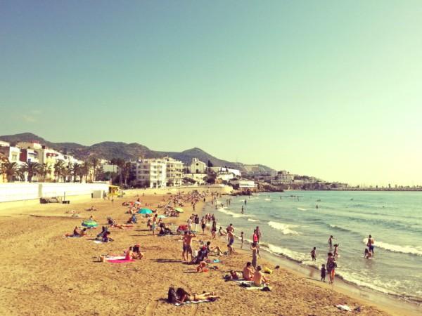 beach sitges
