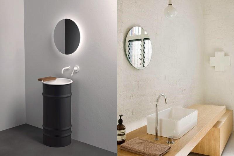 espejos sin marco 39 vintage 39 o actuales para decorar tus